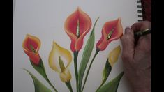 How to Paint a Lilly! (2018) I Donna Dewberry - YouTube
