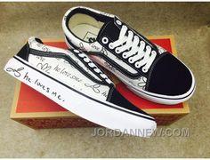 """http://www.jordannew.com/journeys-vans-old-skool-love-me-not-women-and-men-black-white-shoes-3544-discount.html JOURNEY'S VANS OLD SKOOL """"LOVE ME NOT"""" WOMEN AND MEN BLACK WHITE SHOES 35-44 DISCOUNT Only $75.10 , Free Shipping!"""