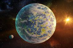 Science & Vie - Exoplanète Super-terre