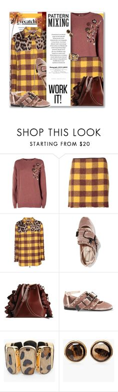 """Pattern Mixing - Work It With No21"" by leanne-mcclean ❤ liked on Polyvore featuring N°21 and Chico's"