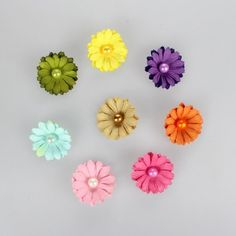 Diy flat paper flowers for crafting flower scrapbook and scrapbooking diy paper flowers mightylinksfo