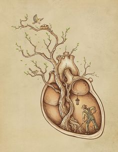 Tree of Life by Enkel Dika    Do you have the heart to work on ALL aspects that support your life, ...even the most repetitive and menial without pushing against them with your resistance. Dedicate ALL of your self, all actions and efforts to the higest outcome for all involved. Let Source Energy support you at all times. Offer love, light, and happiness and see your heart light overflow. CJS