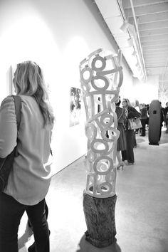 Brandon Reese sculpture
