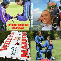 💗 💎💍💗 #SayYesSaturday: #Extreme #Proposal Ideas  2. ✈ The Tandem #Skydive Proposal... {Follow Pinterest's photo link for full details!}  ✨ #PutARingOnIt 💎💍  ✨ #love #skydiving #sky #weddingseason #couple #bridetobe #groom #adventure #travelpin #seetheworld #globetrotter #cool #instatravel #instabeauty #romantic #instalove #relationshipgoals #engagementring #engagement #wedding #photooftheday #photography #Saturday #fun #adventuretime