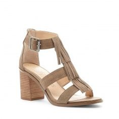 Delilah - Sole Society Summer Fringe Sandals
