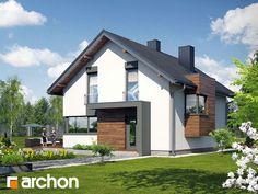 Dom pod graviolą. Zobacz więcej na: http://archon.pl/gotowe-projekty-domow/dom-pod-graviola/m4cc7e819876d6