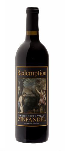 2010 Redemption Zinfandel $24.00 for 750ml bottle
