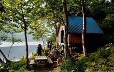 Sentier international des Appalaches-Québec (SIA-Québec) | Tourisme Matane Interactive Map, Appalachian Trail, Day Hike, Trail Running, Lodges, North America, Wildlife, Hiking, House Styles