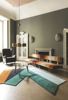 INSPIRATION: a living room of bold accents, directly from design hub, Milan | est living