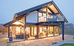 The best eco_friendly homes _ Telegraph Sustainable Architecture, Architecture Design, Casas Containers, Passive House, Eco Friendly House, Tiny House Design, Villas, Future House, Building A House