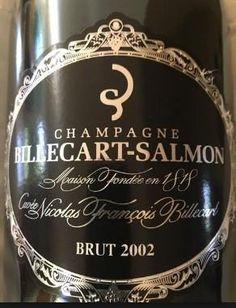 2002 Billecart-Salmon Champagne Cuvée Nicolas-François Billecart