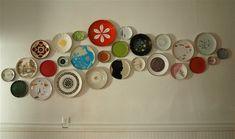 Plate wall ideas