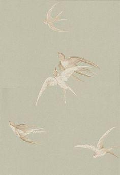9 best vintage plumbing ads images in 2014 history - Sanderson swallows wallpaper pebble ...