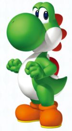 yoshi yoshi yoshi !!!!!!!!!!!!!!!!!!!!!!! Another kind of dragon. my favorite mario brothers Character.