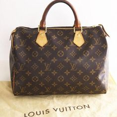 LOUIS VUITTON SATCHEL - my first LV bag bought in Paris for me by my  doctor s wife! Michael soon added many LV things to my collection! a9e94c742746f