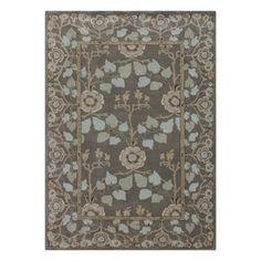 Jaipur�Poeme 8-ft x 11-ft Rectangular Multicolor Floral Wool Area Rug