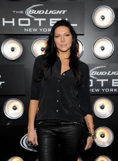 Laura Prepon. She kind of makes me want to keep my hair long and dark.
