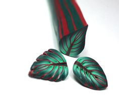 eBook Polymer clay tutorial leaf canes by EugenasCreations on Etsy