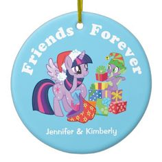 My Little Pony, Christmas Presents Ceramic Ornament