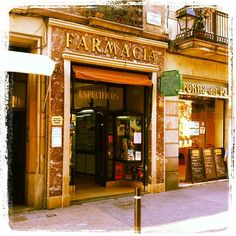pharmacies around the world  Spanish pharmacy Barcelona