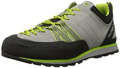 Scarpa Womens Crux Approach Shoe OysterGreen Glow 39 EU75 M US ** Discover this special product, click the image