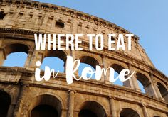 Looking for some amazing restaurant recommendations for your trip to Rome? Or maybe just some Rome travel inspiration? This post includes eight traditional, authentic, and absolutely delicious restaurants and gelaterias to visit during your Roman vacation. And trust us, you won't want to miss them. Foodies, prepare to rejoice. And maybe drool a little bit, too!