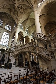 Saint Etienne du Mont Church, Paris