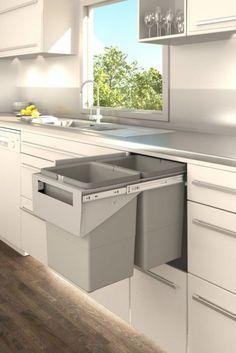 how to declutter the kitchen to clear off your counter | @meccinteriors | design bites | #kitchenorganization #kitchenstorage #kitchendesign
