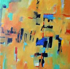 Daily Painters Abstract Gallery: Original Contemporary Modern Art Abstract Paintings by Filomena de Andrade Booth