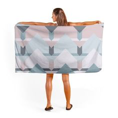 Buy Scandi Waves Towel by Daniela di Niro (@DesigndN). miPic towels are so good, you'll want to lay next to them! Print any art or photo onto a soft polyester micro fibre towel and stand out from the crowd on your holiday. Available in 2 sizes 1.4m x 0.7m or the 1.6m x 0.8m perfect for the beach. 3-5 day UK delivery time.