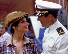 Richard Gere and Debra Winger are brilliant in An Officer and a Gentleman