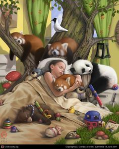 Not just a dream~~~in the near Future Jesus will Rule and Take Over this Earth, all children will sleep in Peace - Daniel 2: 44, what a Lovely Time That will be ...............