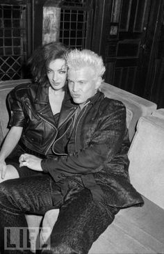 Billy Idol & Perri Lister, 1987