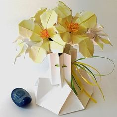 Small Origami Flower Arrangement - available in shop on website