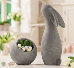 "Figure ""Rabbit"" now for € in Frank Flechtwaren und Deko Onlin . - Figure ""Rabbit"" now for € in the Frank Flechtwaren und Deko Online Shop - Clay Birds, Ceramic Birds, Ceramic Animals, Ceramic Clay, Ceramic Pottery, Clay Projects, Clay Crafts, Pottery Animals, Hobbies For Couples"