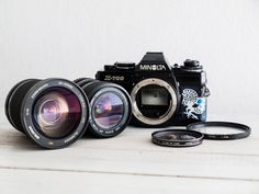Minolta X-700 Lens of choice functional vintage 35 by FolkCamera