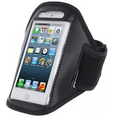 Armband Case Holder IPhone 5 Sports Running - - $14.99 *** Free Shipping @ www.GadgetPlus.ca Best Deals Online, Iphone, Computer Accessories, Gym Workouts, Consumer Electronics, Pouch, Good Things, Running, Stuff To Buy