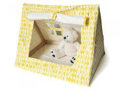 Yellow Mini Organic Tent