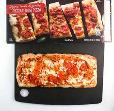 Trader Joe's Organic Tomato Mozzarella Piccolo Pizza review #traderjoes Joe's Pizza, New Pizza, New York Pizza, Tomato Mozzarella, Frozen Pizza, Trader Joe's, Calorie Counting, Quick Meals