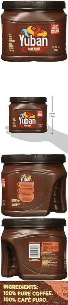 Yuban Ground Coffee, Dark Roast, 25.3 Ounce Ground Coffee, Dark Roast