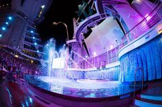 Never ceasing to be amazed. #aquatheatre by royalcaribbean