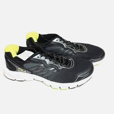 Fila Mens Indus Running Athletic Shoes Coolmax Lining Fabric Sneakers 10 NEW  | eBay