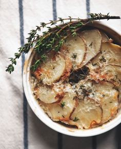 Skillet Steak, Caramelized Potato Gratin + Kale Salad with Pomegranate Vinaigrette — a Better Happier St. Sebastian