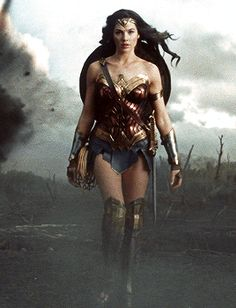 "jason-todds: ""Gal Gadot as Diana Prince / Wonder Woman in Wonder Woman dir. Wonder Woman Art, Gal Gadot Wonder Woman, Wonder Woman Movie, Wonder Women, Medieval Combat, Karate Video, Super Heroine, Gal Gabot, Batman Vs Superman"