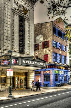 Walnut Street, Downtown Philadelphia, Pennsylvania