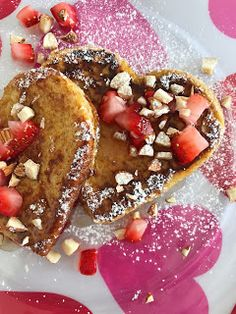 French toast valentines