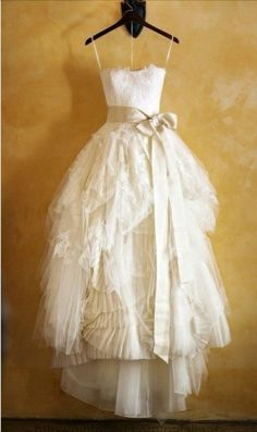 Inspired by the Vera Wang Eliza Wedding Dress  : Limited Availability