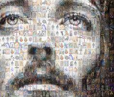 Jesus through Our Lady Mother. Jesus Pictures, Pictures To Draw, Catholic Mass Readings, Trinidad, Religion, Jesus Photo, Vides, Our Savior, Pentecost