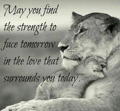 Its all that matters, draw strength from it