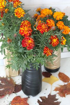 DIY FLOWER VASE WITH